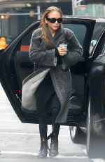 MARY KATE OLSEN Out and About in New York 01/17/2017