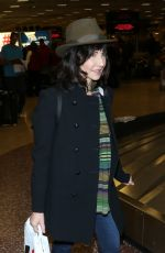MARY STEENBURGEN Arrives in Salt Lake City 01/19/2017