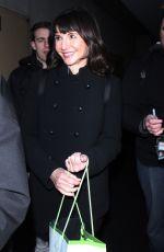 MARY STEENBURGEN Leaves NBC Studios in New York 01/11/2017