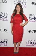 MAYIM BIALIK at 43rd Annual People's Choice Awards in Los Angeles 01/18/2017