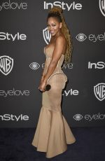 MEAGAN GOOD at Warner Bros. Pictures & Instyle's 18th Annual Golden Globes Party in Beverly Hills 01/08/2017
