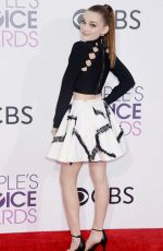 MEG DONELLY at 43rd Annual People's Choice Awards in Los Angeles 01/18/2017