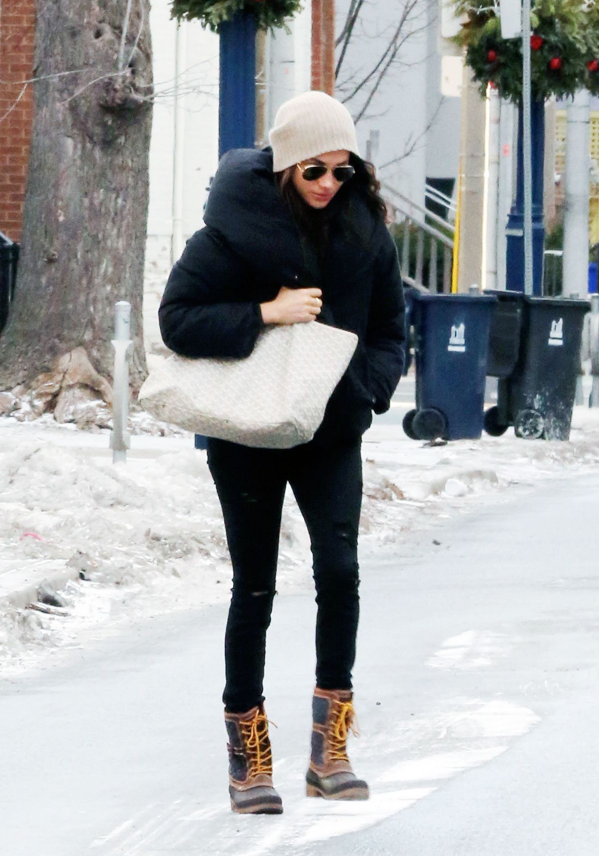 MEGHAN MARKLE Out and About in Toronto 12/28/2016