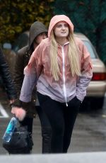 MEGHAN TRAINOR Out and About in Los Angeles 01/20/2017