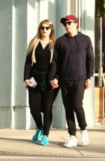 MEGHAN TRAINOR Out in Los Angeles 01/30/2017