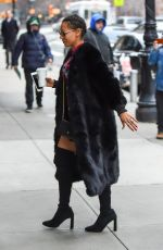 MELANIE BROWN Out and About in New York 01/18/2017