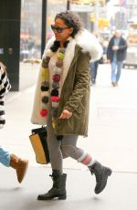MELANIE BROWN Out in New York 01/21/2017
