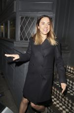MELANIE CHISHOLM Night Out in London 01/13/2017
