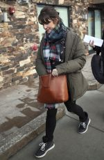 MELANIE LYNSKEY Out and About in Park City 01/20/2017