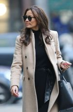 MELANIE SYKES Arrives at BBC Radio 2 in London 01/22/2017