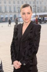 MELISSA GEORGE Arrives at Schiapparelli Fashion Show in Paris 01/23/2017