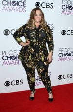 MELISSA MCCARTHY at 43rd Annual People's Choice Awards in Los Angeles 01/18/2017