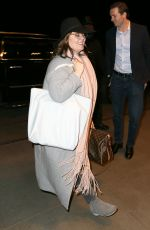MELISSA MCCARTHY at LAX Airport in Los Angeles 01/19/2017
