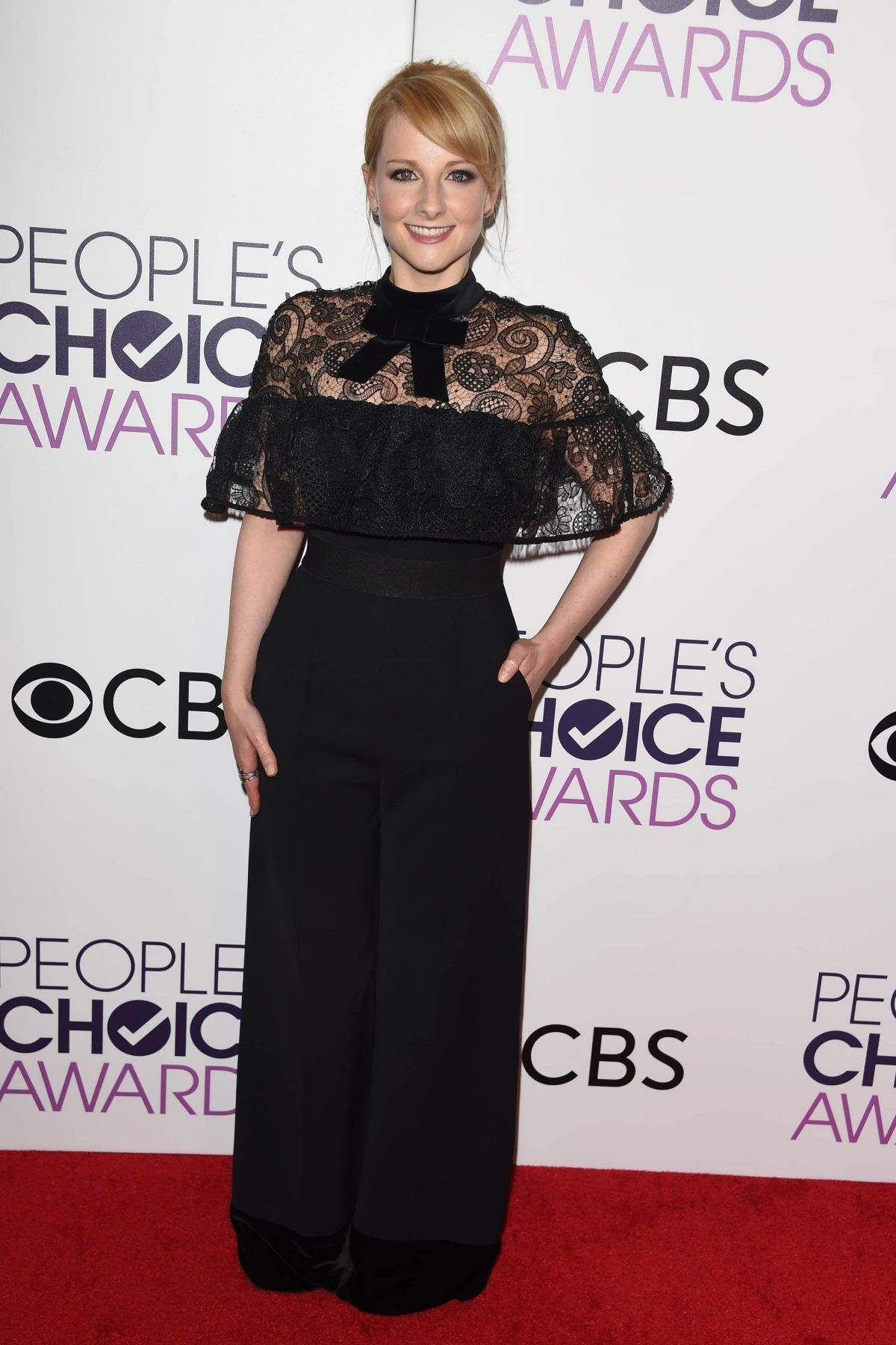 MELISSA RAUCH at 43rd Annual People's Choice Awards in Los Angeles 01/18/2017