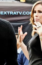 MELISSA RIVERS on the Set of Extra at Universal Studio 01/03/2017