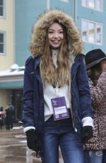 MEREDITH FOSTER Out in Park City 01/21/2017
