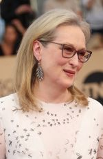 MERYL STREEP at 23rd Annual Screen Actors Guild Awards in Los Angeles 01/29/2017