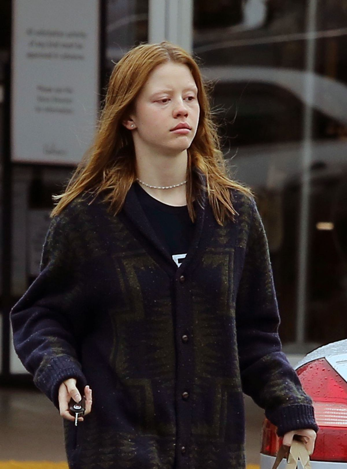 MIA GOTH Out Shopping ...