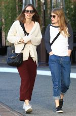 MIA GOTH with a Friend Out in Beverly Hills 01/25/2017