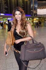 MICAELA SCHAEFER at Airport in Frankfurt am Main 01/06/2017