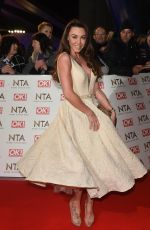 MICHELLE HEATON at National Television Awards in London 01/25/2017