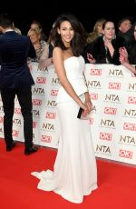 MICHELLE KEEGAN at National Television Awards in London 01/25/2017