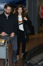 MICHELLE MONAGHAN Arrives in Salt Lake City 01/21/2017