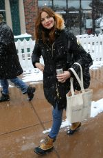 MICHELLE MONAGHAN Out in Park City 01/22/2017