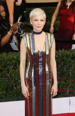 MICHELLE WILLIAMS at 23rd Annual Screen Actors Guild Awards in Los Angeles 01/29/2017