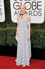 MICHELLE WILLIAMS at 74th Annual Golden Globe Awards in Beverly Hills 01/08/2017