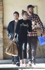 MILEY CYRUS and Liam Hemsworth Out Shopping in Los Angeles 01/06/2017