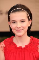 MILLIE BOBBY BROWN at 23rd Annual Screen Actors Guild Awards in Los Angeles 01/29/2017