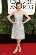 MILLIE BOBBY BROWN at 74th Annual Golden Globe Awards in Beverly Hills 01/08/2017
