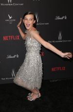 MILLIE BOBBY BROWN at Weinstein Company and Netflix Golden Globe Party in Beverly Hills 01/08/2017