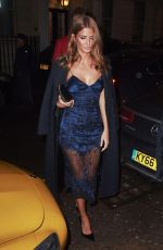 MILLIE MACKINTOSH at GQ Dinner at Mnky Hse Restaurant in London 01/10/2017
