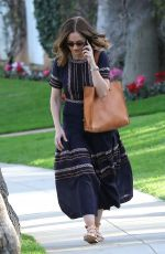 MINKA KELLY Out and About in Beverly Hills 01/30/2017