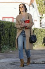 MINKA KELLY Out and About in West Hollywood 01/19/2017
