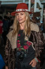 MIRA SORVINO at LAX Airport in Los Angeles 01/29/2017