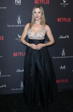 MIRA SORVINO at Weinstein Company and Netflix Golden Globe Party in Beverly Hills 01/08/2017