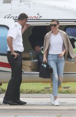 MIRANDA KERR Arrives at a Airport in Sydney 12/31/2016