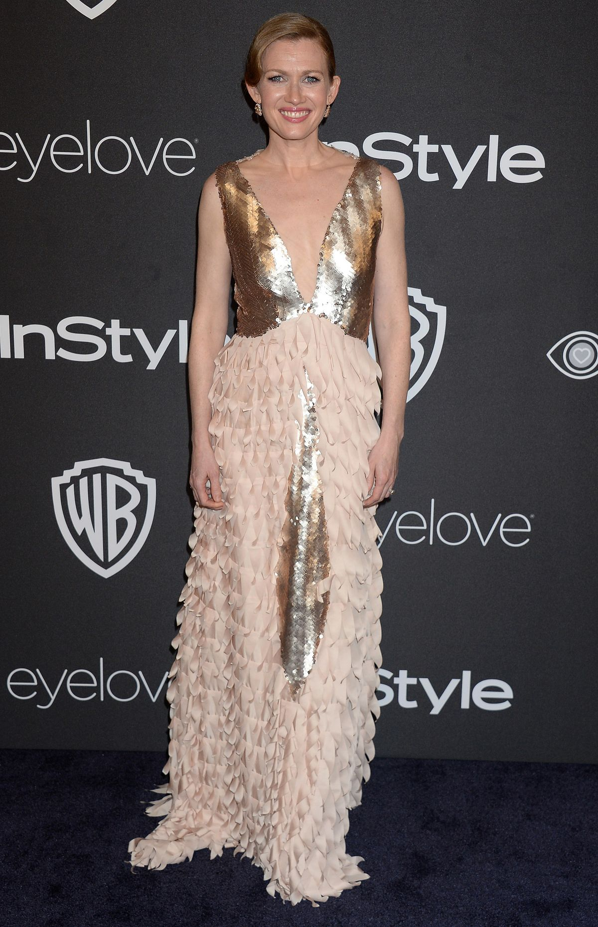 MIREILLE ENOS at Warner Bros. Pictures & Instyle's 18th Annual Golden Globes Party in Beverly Hills 01/08/2017