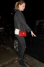 MISCHA BARTON at Peppermint Club in West Hollywod 01/11/2017