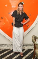 MISCHA BARTON at Tome Dinner Celebrating White Shirt Project and Freedom for All Foundation in Los Angeles 01/12/2017