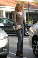 MOLLY QUIN Out and About in Los Angeles 01/13/2017