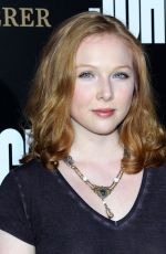 MOLLY QUINN at 'John Wick: Chapter 2' Premiere in Los Angeles 01/30/2017