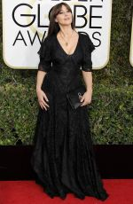MONICA BELLUCCI at 74th Annual Golden Globe Awards in Beverly Hills 01/08/2017