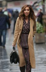 MYLEENE KLASS Leaves Smooth Radio in London 01/17/2017