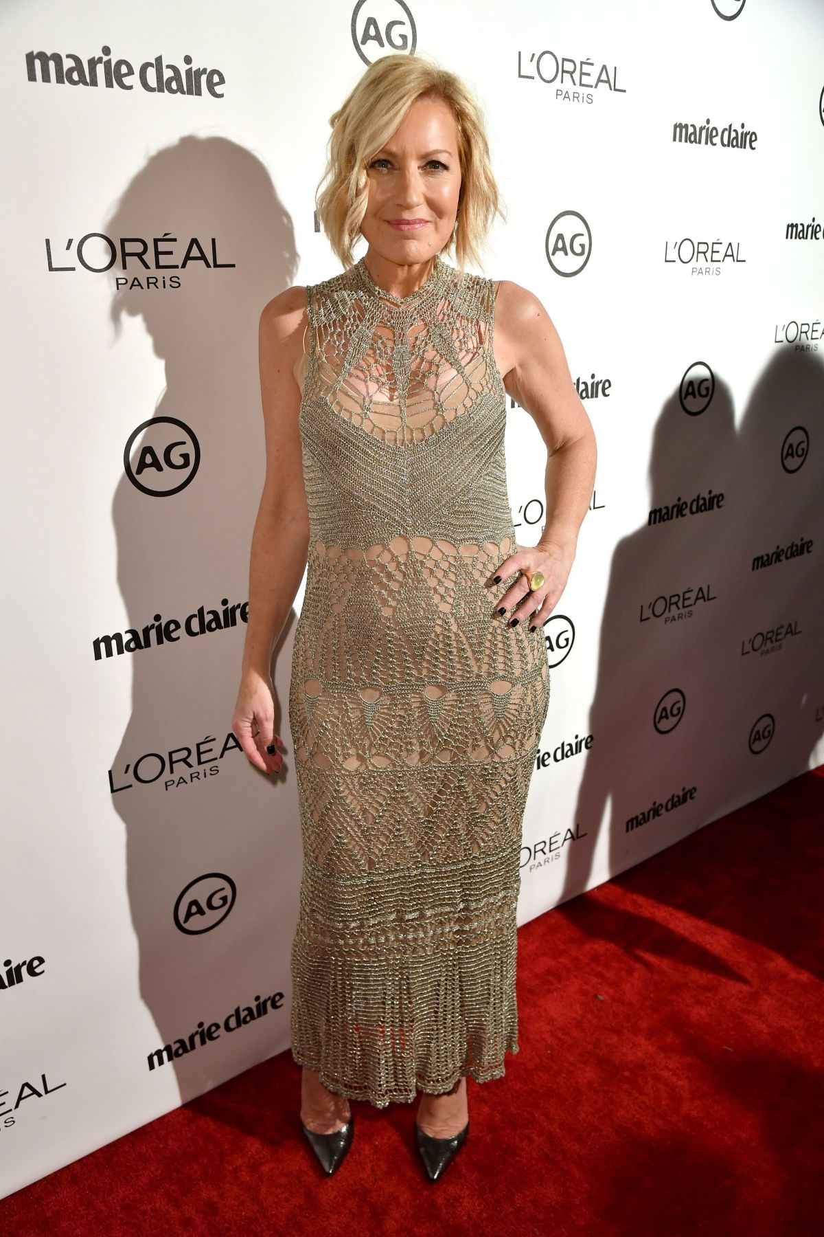 NANCY BERGER at Marie Claire's Image Maker Awards 2017 in West Hollywood 01/10/2017