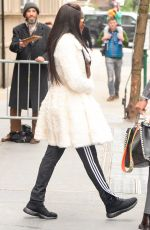 NAOMI CAMPBELL Leaves ABC Studios in New York 01/04/2017