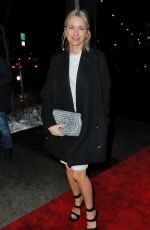NAOMI WATTS Arrives at a Stella McCartney Event in New York 01/10/2017